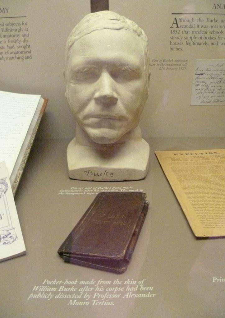 724px-William_Burke's_death_mask_and_pocket_book,_Surgeons'_Hall_Museum,_Edinburgh