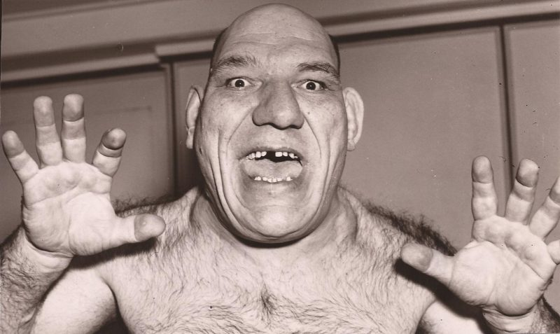 Coming right at ya - Maurice Tillet