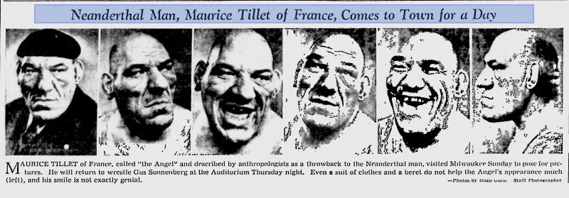 Maurice - Milwaukee Journal March 18th 1940