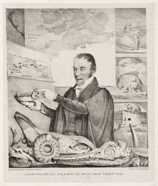 William Buckland, geologist, 1823.