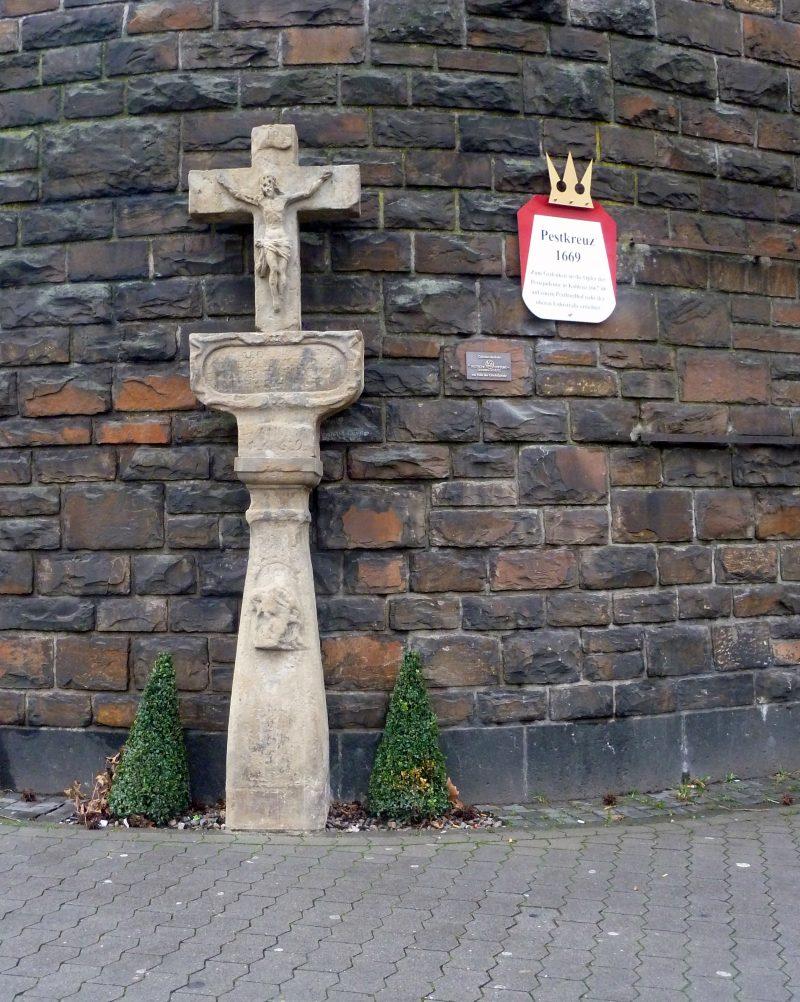 Pestkreuz in Koblenz Löhrstrasse