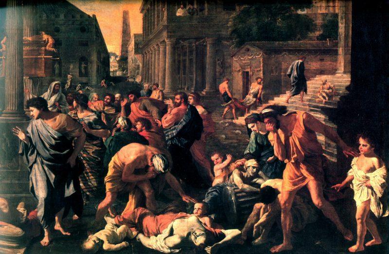 POUSSIN-Nicolas-The-Plague-of-Ashdod-Painting-