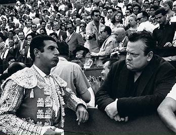 famoso Orson Welles con ordonez